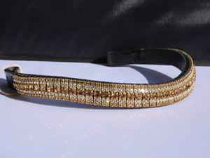 Light colorado, clear and light colorado megabling curve browband