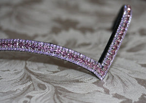 Light amethyst and violet browband