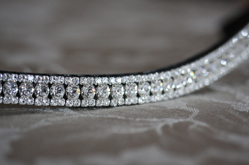Swarovski Tiffany crystal browband