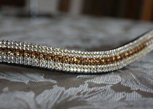 Light colorado and clear megabling curve browband