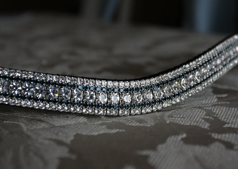 Clear and montana megabling curve browband
