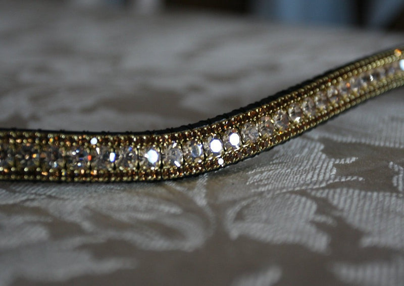 Honey and smoke topaz browband