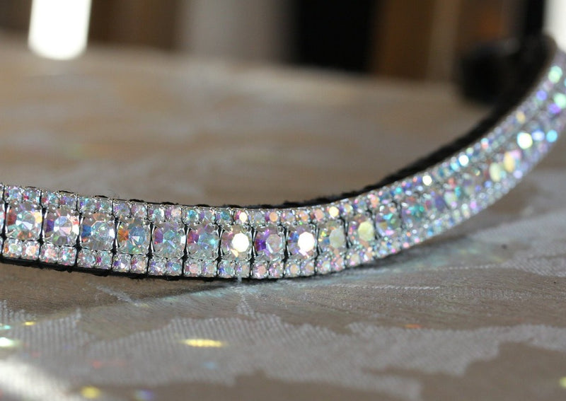All iridescent browband