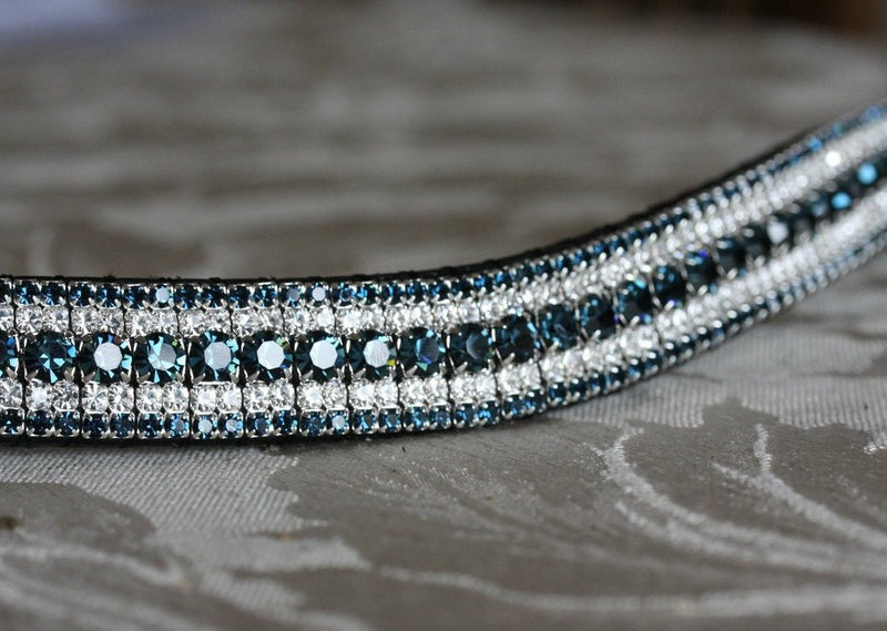 Montana and clear megabling curve browband