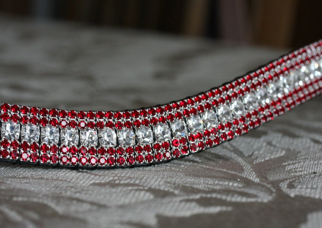 Clear and siams megabling curve browband