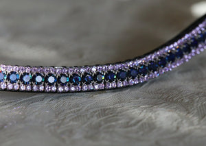 Heliotrope and violet browband