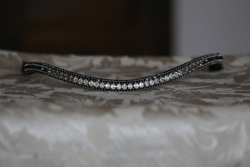 Swarovski Tiffany grey fade browband