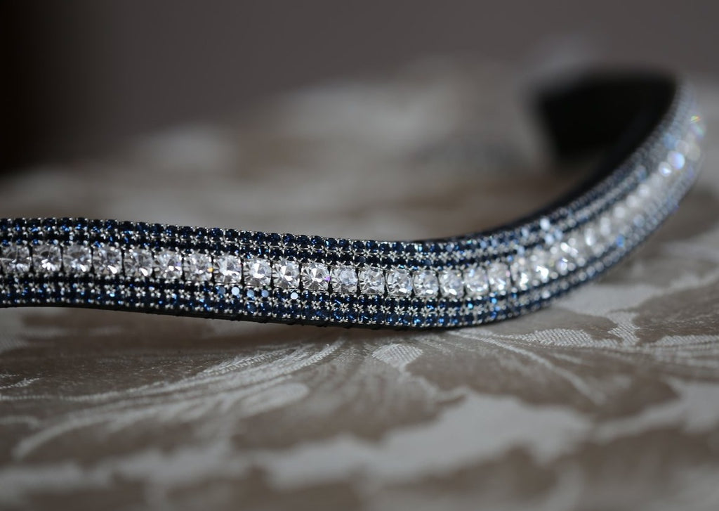 Clear,  montana megabling curve browband