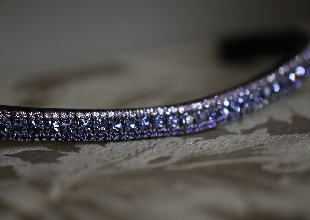 Multi purple browband