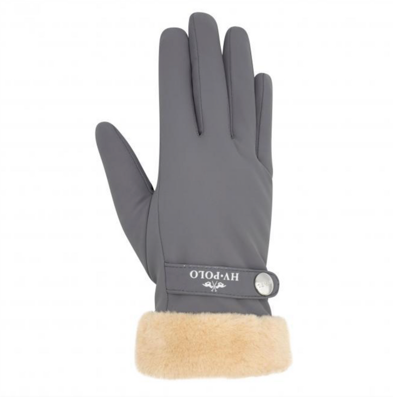 HV Polo Garnet cool grey winter gloves