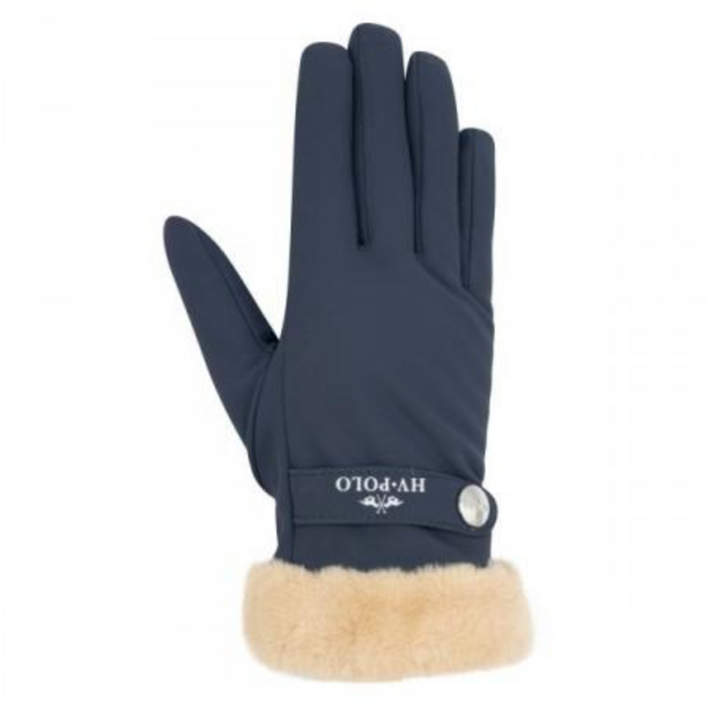 HV Polo Garnet navy winter gloves