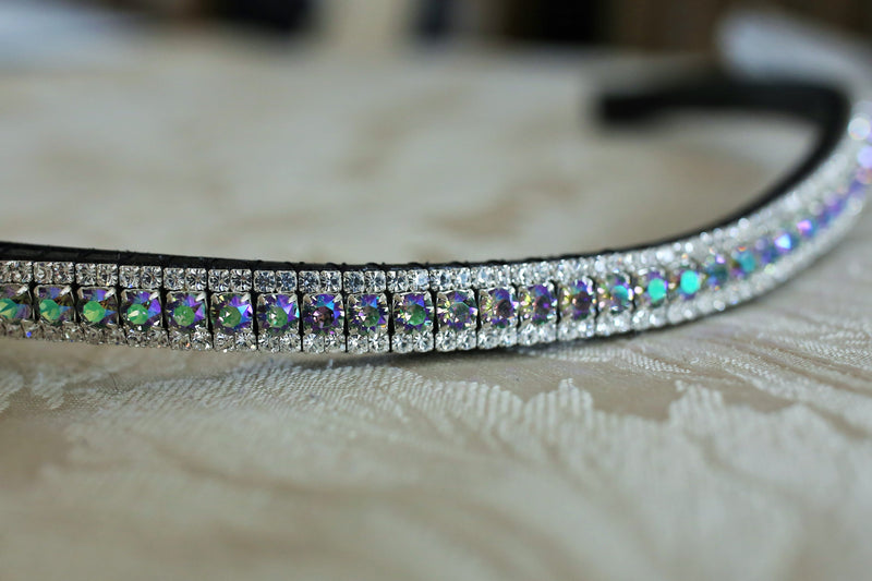 Swarovski paradise shine and clear browband