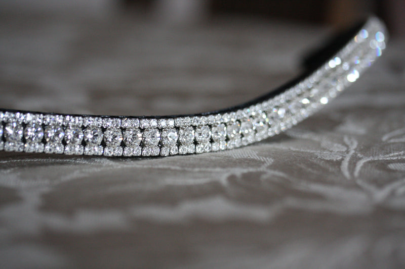 Tiffany clear crystal browband