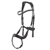 BR Mirfield bridle with alternating black diamond and jet inset Browband