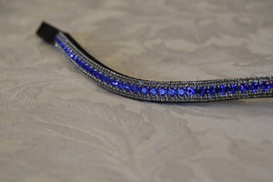 Sapphire and Velvet browband