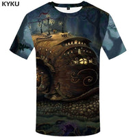 KYKU Slipknot Tshirt Men Band T Shirt Green Hip Hop Tee Streetwear Anime Clothes Character 3d T-shirt Cool Mens Clothing 2018