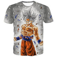Dragon Ball DBZ Bulma Super Saiyan Vegeta T-shirt 3D Men Women Anime Kid Goku Goten Gohan T shirt Harajuku Summer Tee Shirts