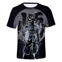 Dragon Ball Z 3D T Shirt Men Summer Top super son goku Funny T-Shirts anime vegeta DragonBall Tshirt Summer cartoon print Tops