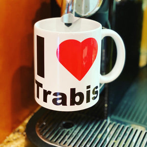 I love Trabis Coffee Mug