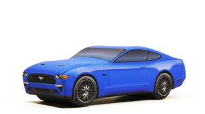 Blue Ford Mustang Pillow