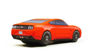 Red Ford Mustang Pillow