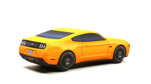 Yellow Ford Mustang Pillow