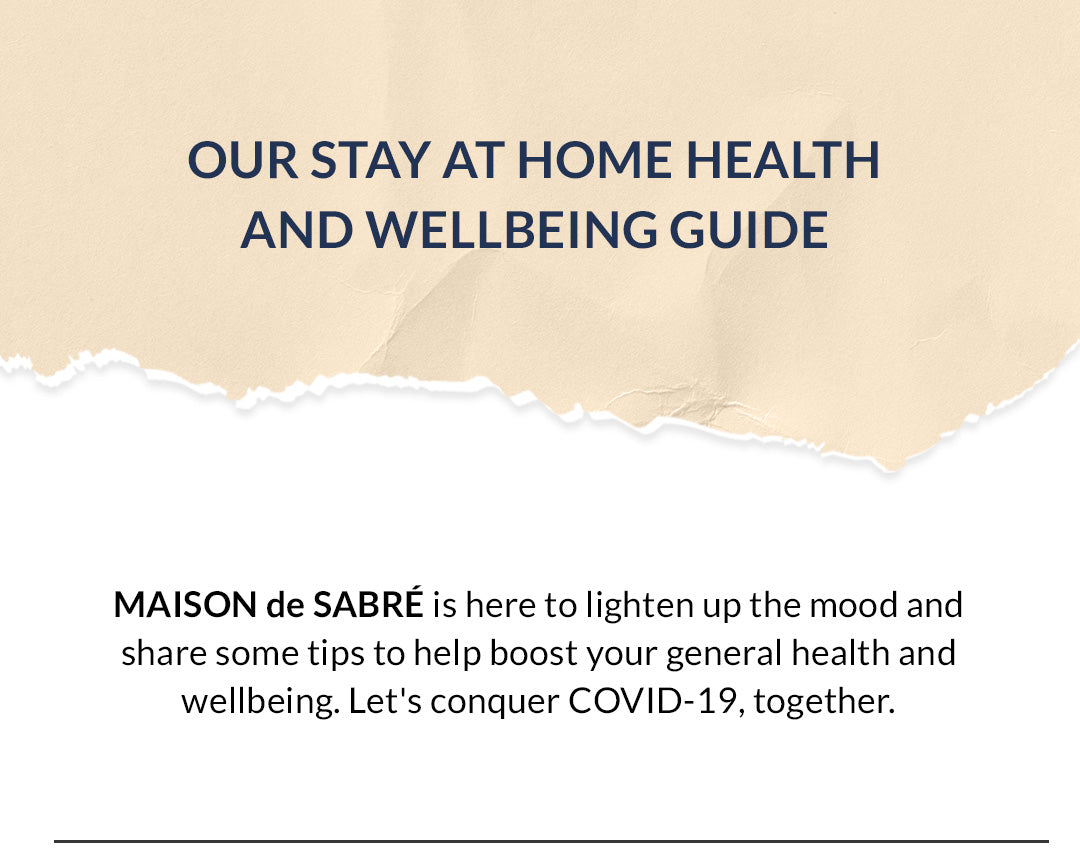 Our Stay at Home Health and Wellbeing Guide