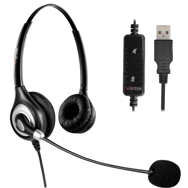 Headset with Microphone Noise Cancelling