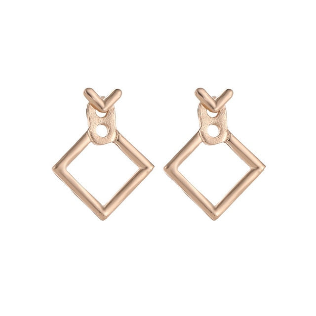 Fashion Jewelry Triangle Dangle Earrings