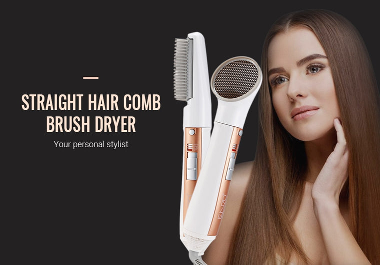 Hair Styling Rotating Hot Brush Dryer