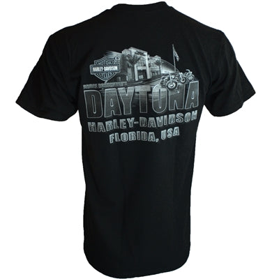25 Years Of Bruce Rossmeyer's Daytona Harley-Davidson Men's S/S Dealer Tee