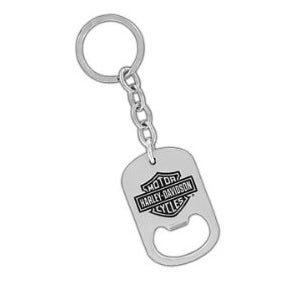 Bar & Shield Bottle Opener Keychain HDKBO14