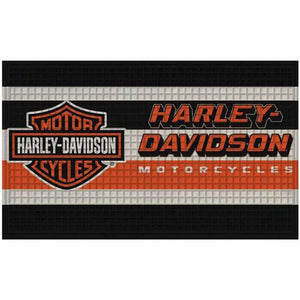Embossed Bar & Shield Logo Doormat 41EM4900