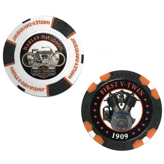 Limited Edition Series 2 Poker Chips Pack,Black & White 6702