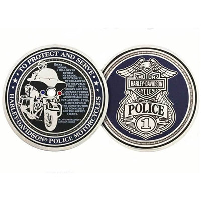 Police To Protect And Serve Challenge Coin 8002916