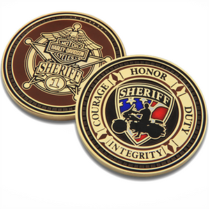 Sheriff Challenge Coin 8002930