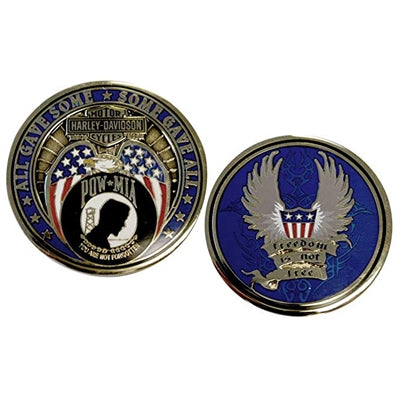 Harley-Davidson Freedom is Not Free Challenge Coin