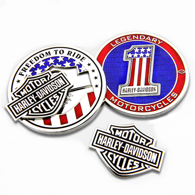Harley-Davidson Removable Legendary Challenge Coin