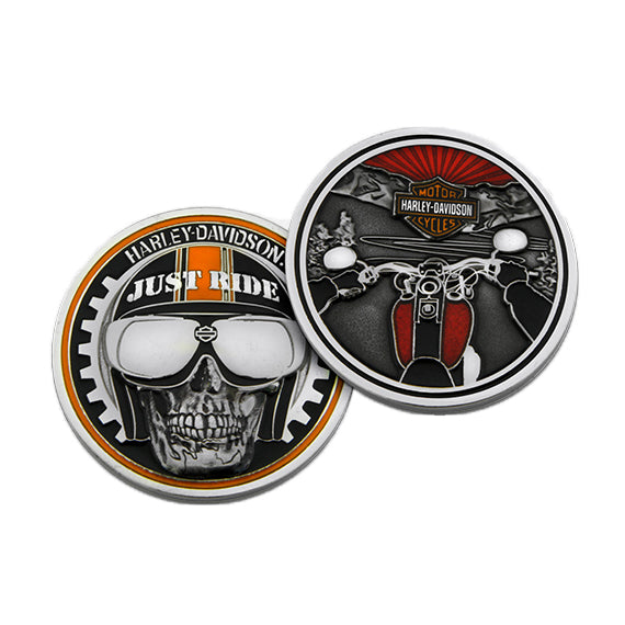 "Harley-Davidson Just Ride 1.75"" Challenge Coin 8003371"