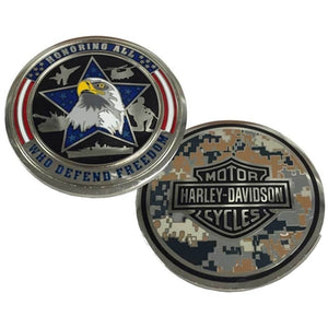 Honoring Freedom Military Challenge Coin 8003845