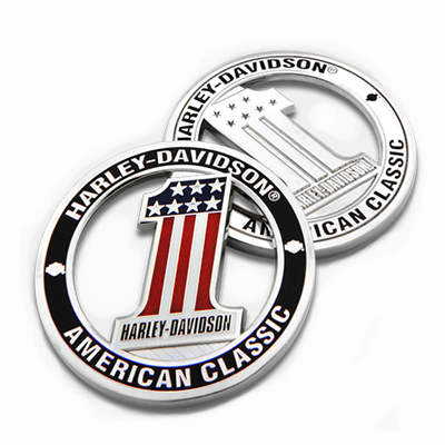 Harley-Davidson Number One Cutout Challenge Coin