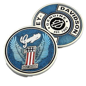 Genuine Blue Challenge Coin 8004927
