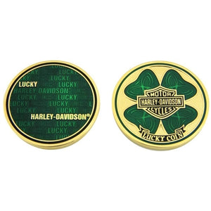 Shamrock Lucky Challenge Coin 8007171
