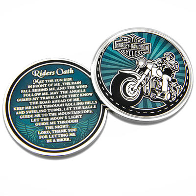 Riders Oath Challenge Coin 8008581
