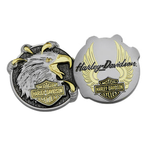 "Harley-Davidson Eagle Claw 1.75"" Challenge Coin 8008963"