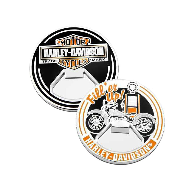 Fill'er Up Bottle Opener Challenge Coin 8009830