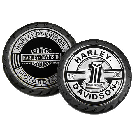 Black Custom Wheel Challenge Coin 8008970