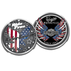 Ride Free Eagle Challenge Coin 8009021