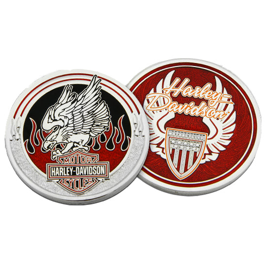 Red Eagle Challenge Coin 8009335