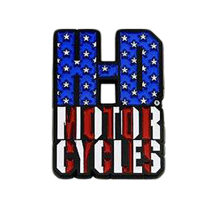 H-D Motorcycles Red, White, and Blue Pin 8009519